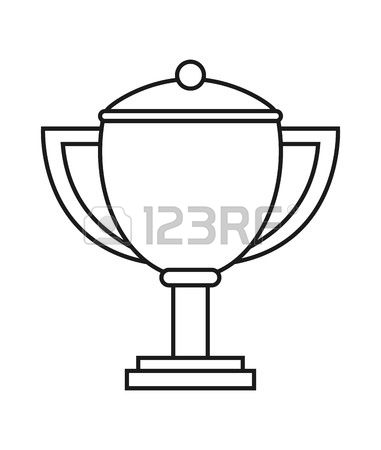 Trophy in shield clipart black vector royalty free library Trophy Clipart Black And White | Free download best Trophy ... vector royalty free library
