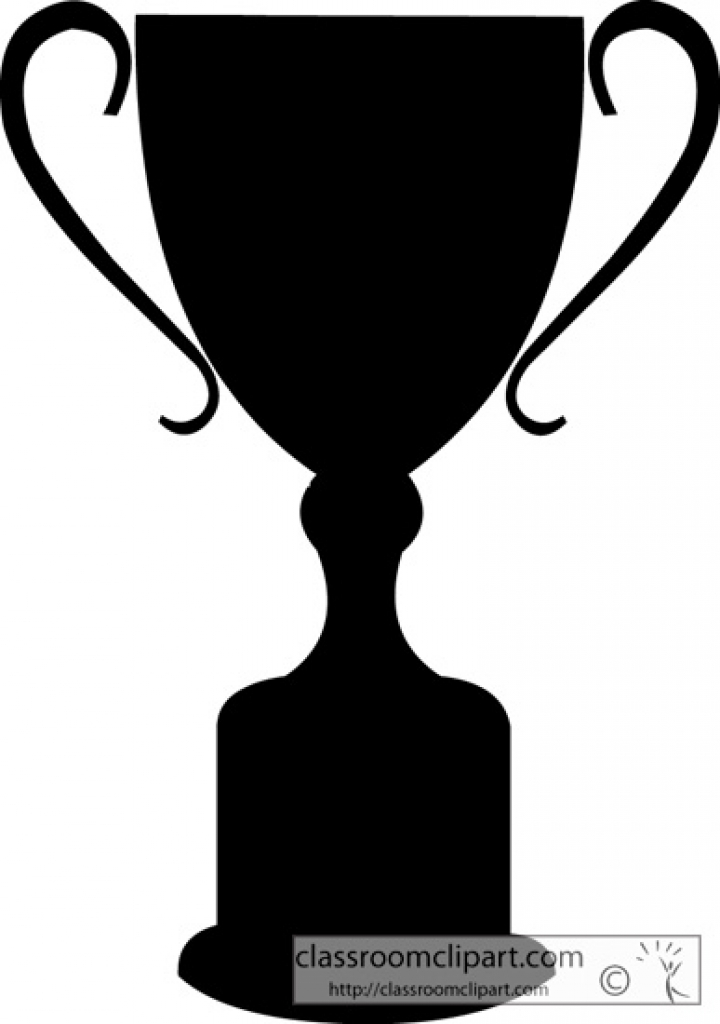 Trophy in shield clipart black clip art freeuse download Trophy Clipart Black And White | Free download best Trophy ... clip art freeuse download