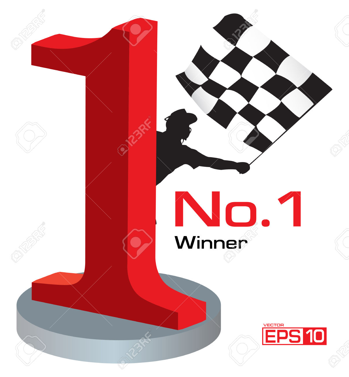 Trophy number 1 clipart clipart black and white Trophy Winner Number 1 Royalty Free Cliparts, Vectors, And Stock ... clipart black and white
