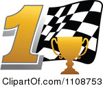 Trophy number 1 clipart picture free download Royalty Free Stock Illustrations of Trophies by Vector Tradition ... picture free download