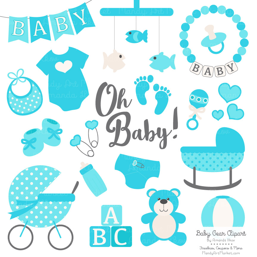 Tropical baby clipart picture transparent Tropical Blue Baby Clipart picture transparent