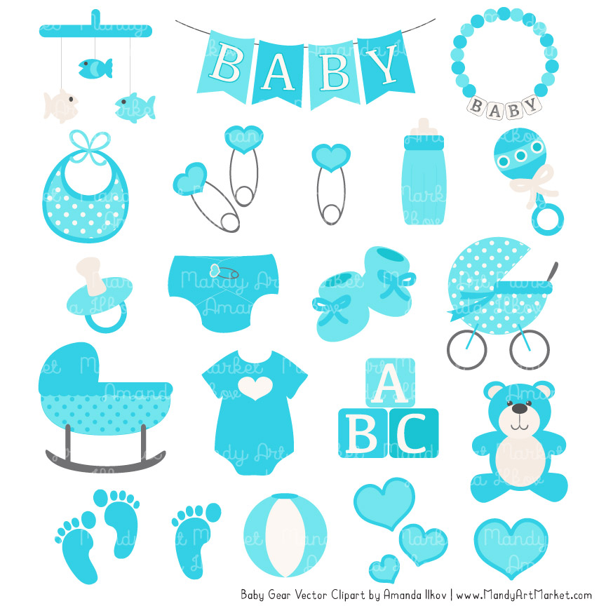 Tropical baby clipart clip art transparent library Tropical Blue Baby Clipart clip art transparent library