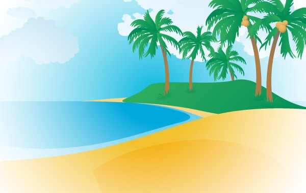 Tropical beach pictures clipart clip art royalty free Free Tropical Beach Cliparts, Download Free Clip Art, Free ... clip art royalty free