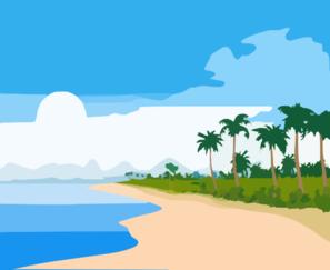 Tropical Beach Clipart | Clipart Panda - Free Clipart Images clip transparent download