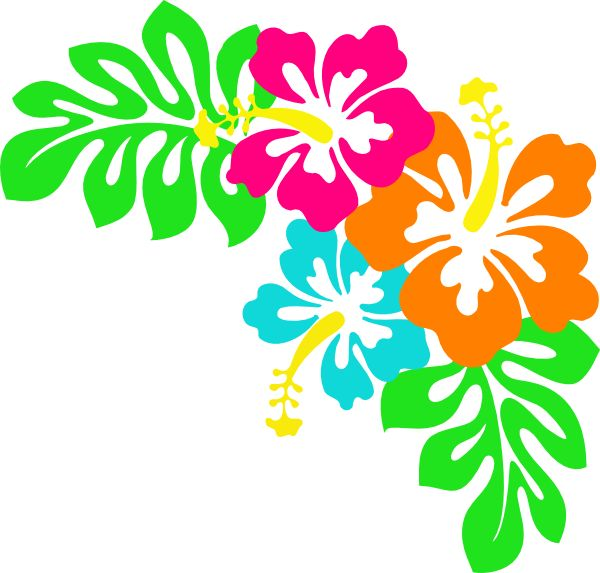 Tropical Flower Clipart Hibiscus Leaves - Clipart1001 - Free ... vector