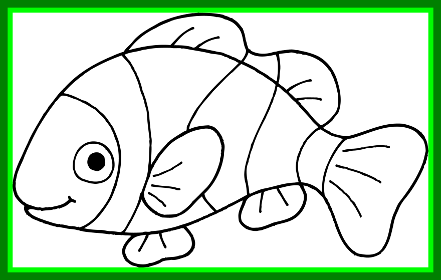 Tropical fish black and white clipart picture Best Collection Of Tropical Fish Black And White Clipart High Pic ... picture