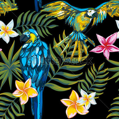 Tropical flower artwork graphic free download Tropical flower artwork - ClipartFest graphic free download