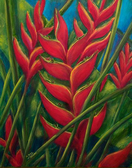 Tropical flower artwork clip transparent stock Hawaii tropical flowers Art Paintings & Prints for Sale by Hawaii ... clip transparent stock
