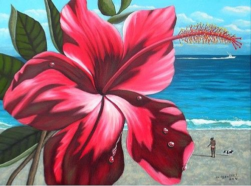 Tropical flower artwork vector free 17 Best images about Tropical Wall Art on Pinterest   Tropical art ... vector free