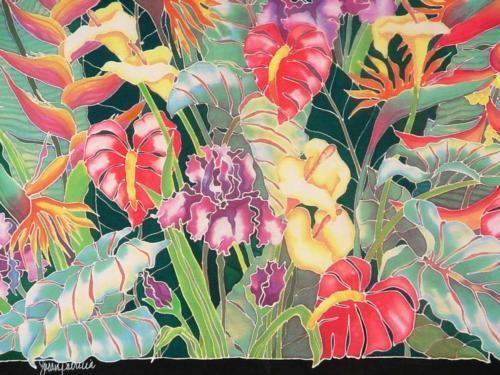 Tropical flower artwork image free stock Tropical Flowers Artwork - The Best Flowers Ideas image free stock