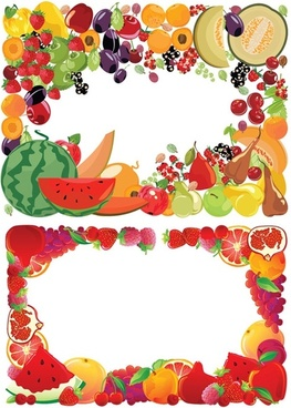 Tropical fruit border clipart free png free library Free fruit borders free vector download (8,031 Free vector ... png free library