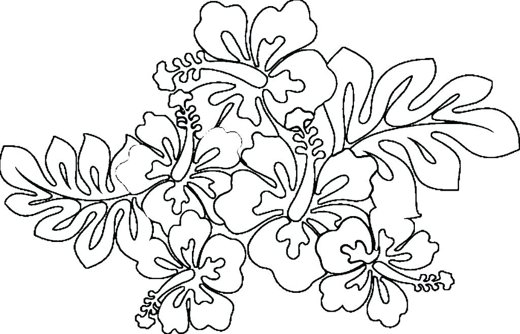 Tropical garden clipart for coloring vector royalty free library flower coloring pages printable – hottestnews.info vector royalty free library