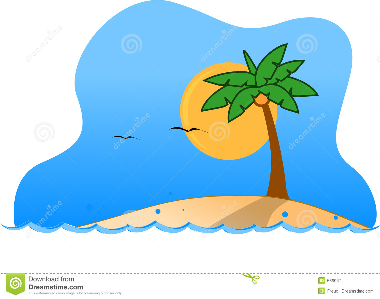 Tropical island images free clipart jpg library stock Tropical Island Clipart | Clipart Panda - Free Clipart Images jpg library stock