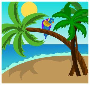 Tropical Island Clip Art Images Tropical Island Stock Photos ... freeuse stock