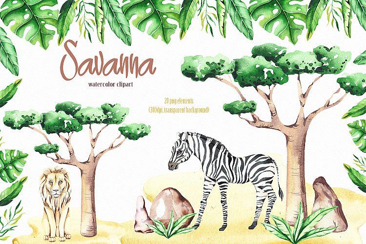 Tropical savanna clipart image free Savanna animal & Tropical clipart image free