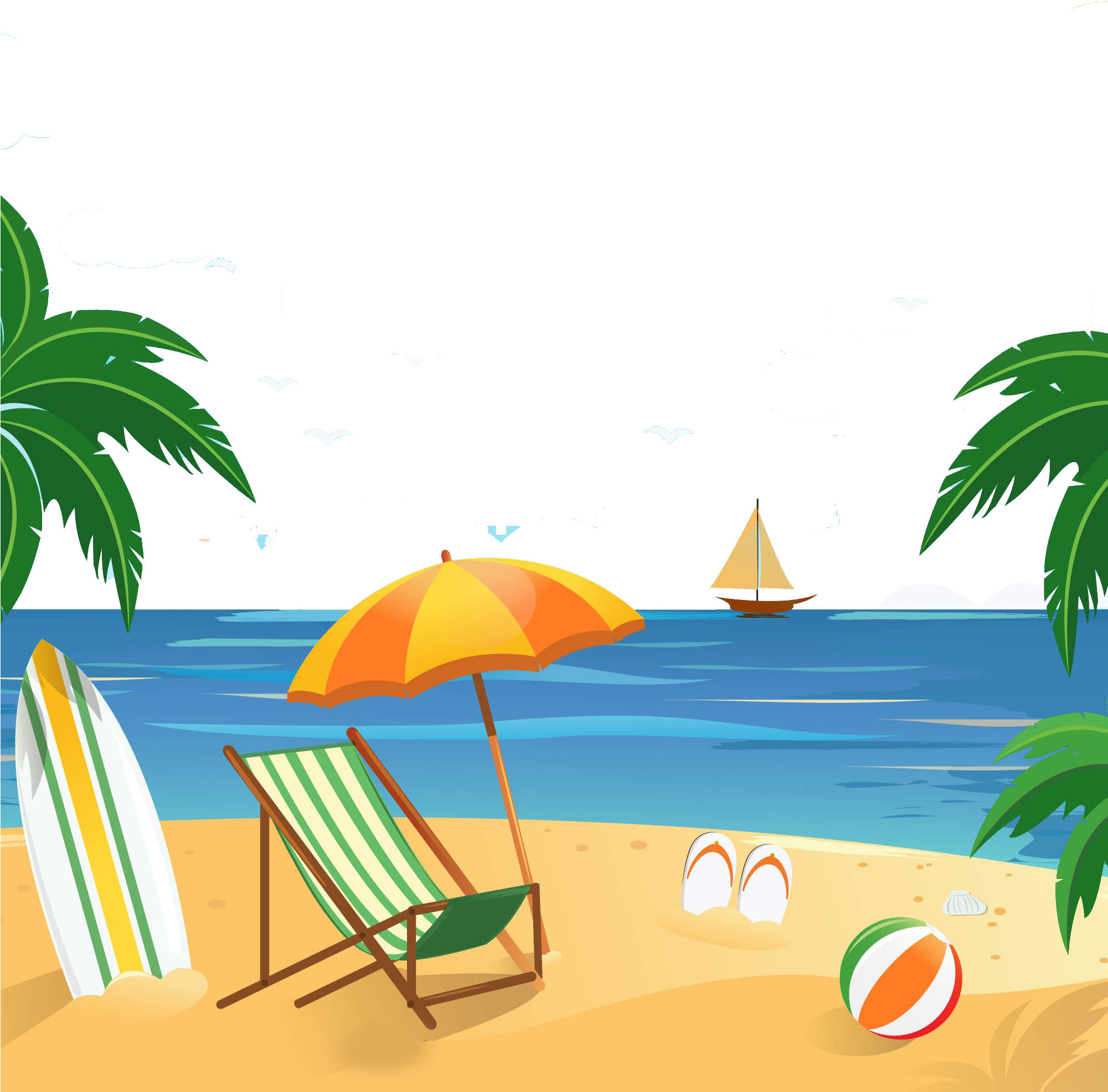 Tropical vacation clipart clip art freeuse Vacation Clipart North End Wine & Liquor Store Livingston ... clip art freeuse