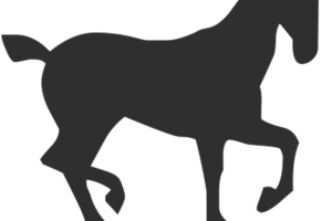 Trotting clipart vector black and white library Trotting horse clipart 3 » Clipart Station vector black and white library