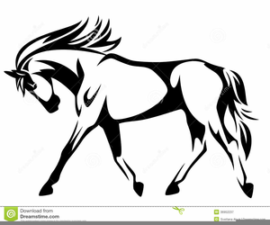 Trotting clipart image freeuse download Trotting Horse Clipart | Free Images at Clker.com - vector ... image freeuse download