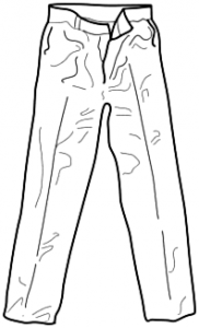 Trousers clipart black and white 3 » Clipart Station picture freeuse stock