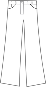 Pants Black And White Clip Art at Clker.com - vector clip ... vector black and white stock