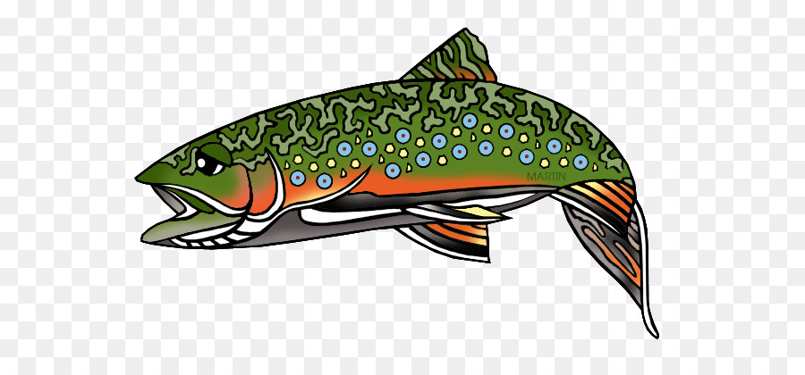 Trout clipart graphic black and white library Rainbow Illustration clipart - Illustration, Fish ... graphic black and white library