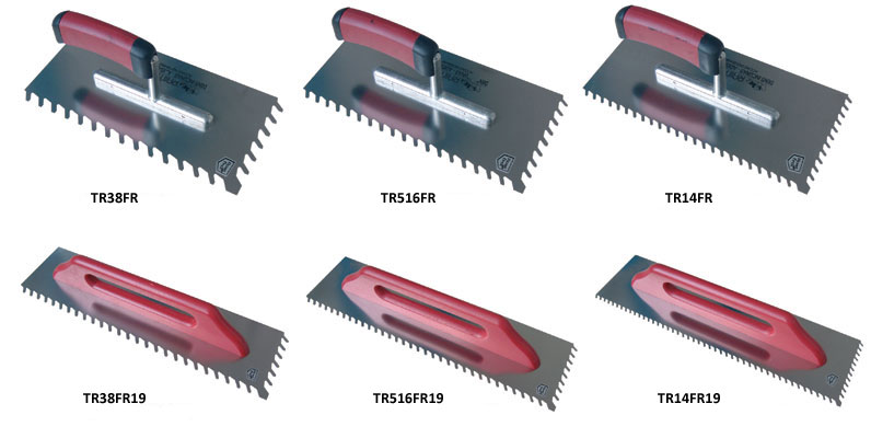 Trowel size svg free stock Slanted Notched Trowels svg free stock
