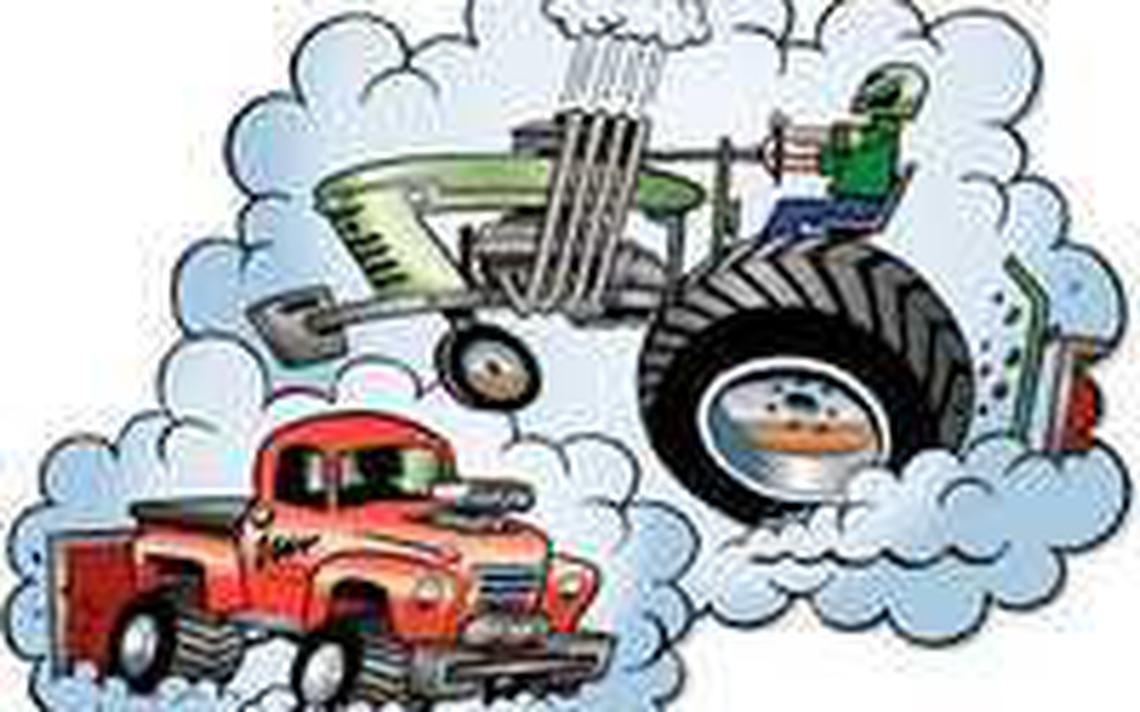 Truck and tractor pull clipart clipart library download Dust-em Off\