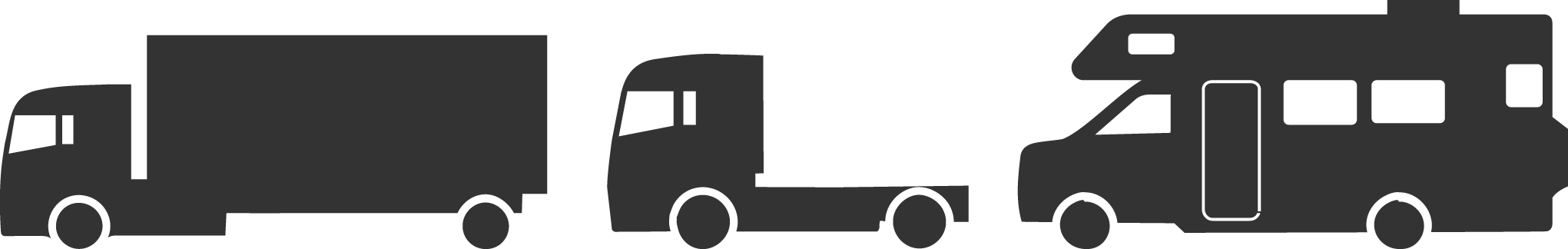 Truck clipart black and white box truck dual axels banner library stock Toll Rates – DRJTBC banner library stock