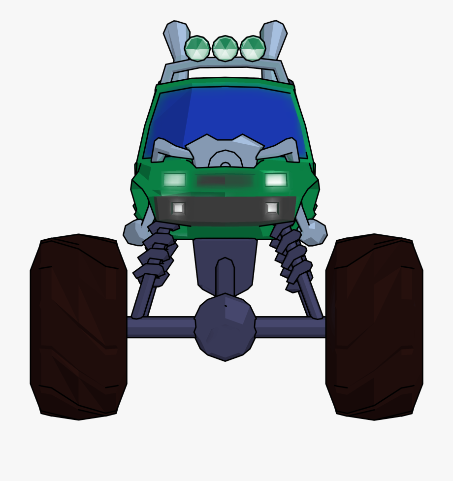 Truck front view clipart jpg royalty free Monster Truck Cartoon Png Clipart Picture Front View ... jpg royalty free