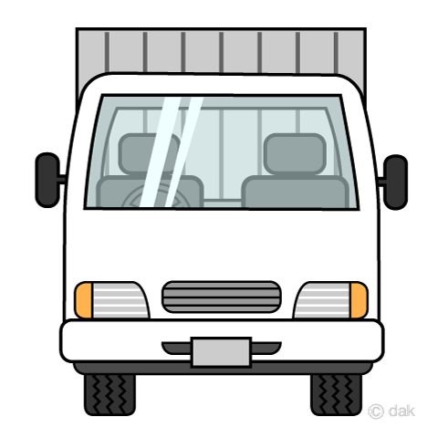 Truck front view clipart black and white stock Truck front view clipart » Clipart Portal black and white stock