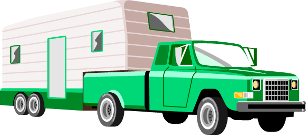 Truck pulling camper clipart clip art freeuse stock Rv Cartoon Clipart | Free download best Rv Cartoon Clipart ... clip art freeuse stock