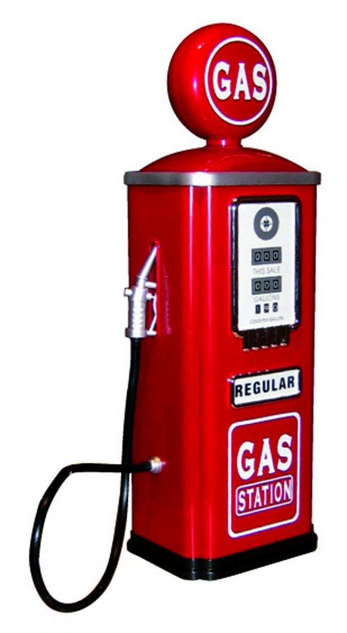Truck stop gas price sign clipart clipart royalty free download Fill up with this nostalgic gas pump. What a great accessory ... clipart royalty free download