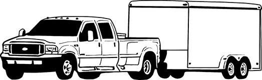 Truck and trailer clipart 1 » Clipart Station image transparent download