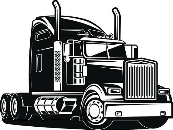 Trucker clipart jpg Truck Driver #1 Trucker Big Rigg 18 Wheeler Semi Tractor ... jpg