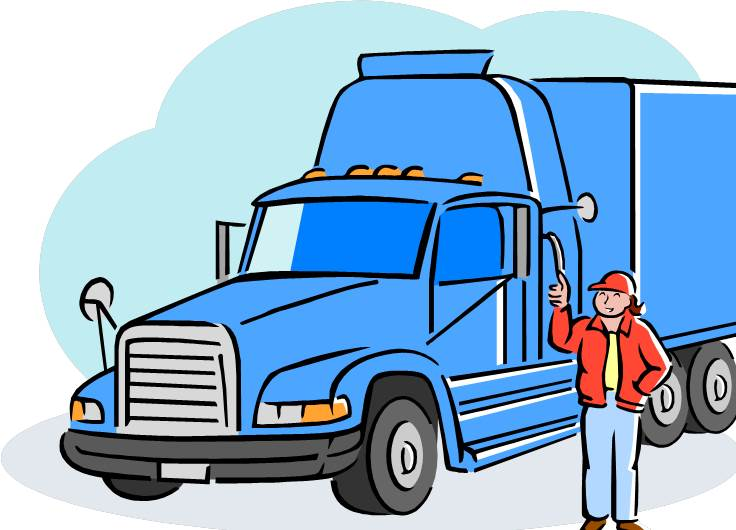 Trucker clipart image Free Truck Driver Cliparts, Download Free Clip Art, Free ... image
