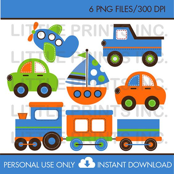 Trucks and plane clipart clipart library library Transportation Vehicles Trains and Planes Car Truck Sailboat ... clipart library library