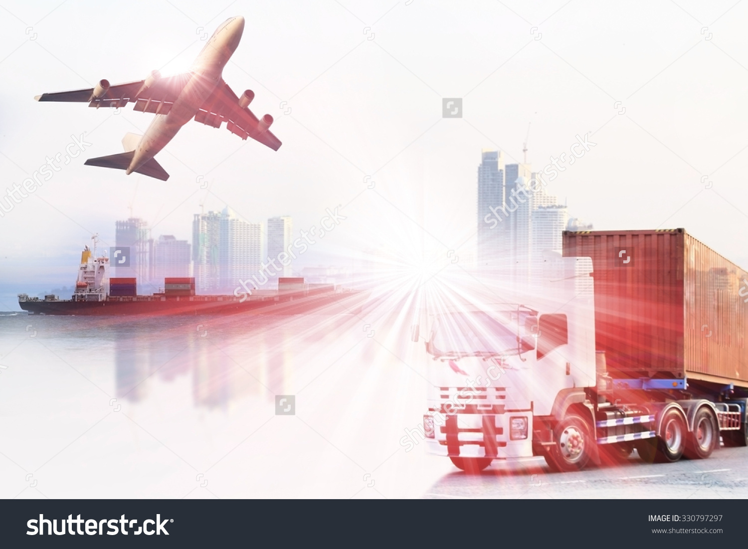 Trucks and plane clipart clipart free Plane truck ship clipart free - ClipartFest clipart free