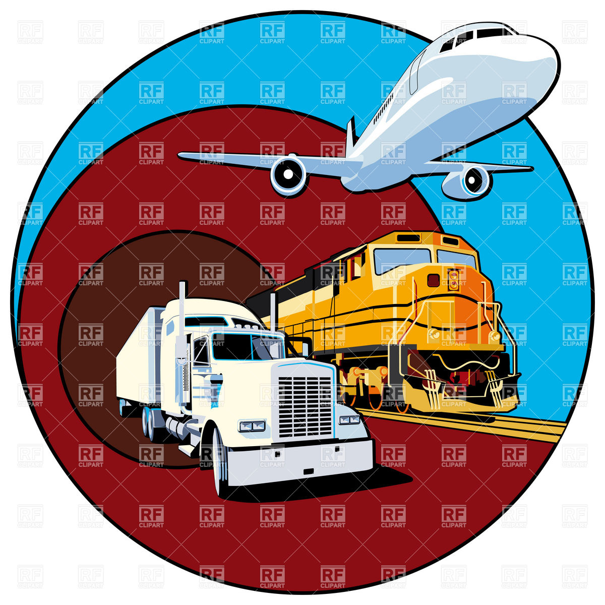 Trucks and plane clipart banner library Trucks and plane clipart - ClipartFest banner library