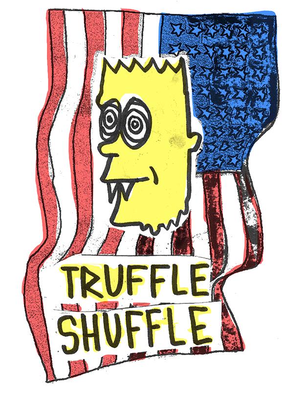 Truffle shuffle clipart clip art royalty free stock Truffle Shuffle clip art royalty free stock