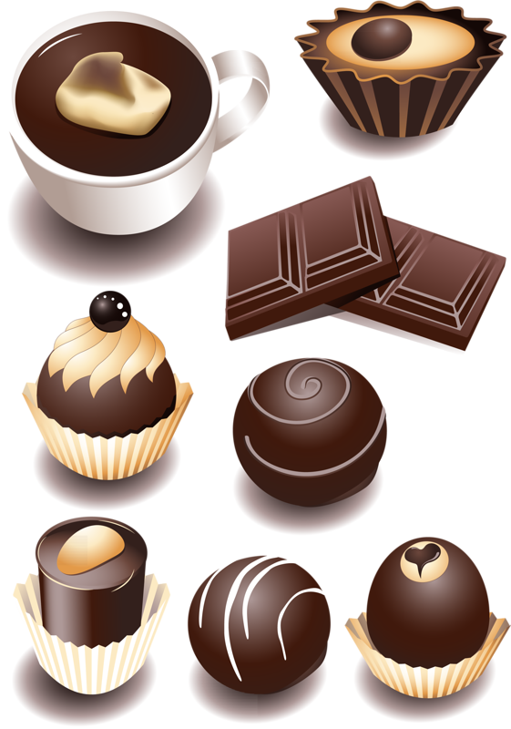 ШОКОЛАДНОЕ (5).png | Food sketch, Food illustrations and Clip art vector library stock