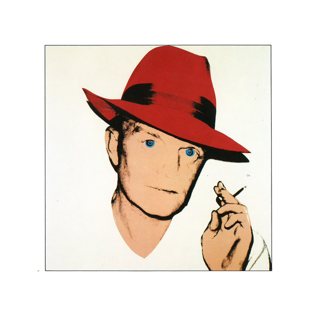 Truman capote clipart picture freeuse Andy Warhol | Truman Capote - Red Fedora (1979) | Available for Sale | Artsy picture freeuse