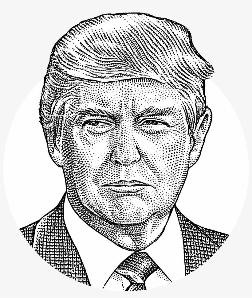 Trump black and white clipart clip art free library Donald Trump Has Won North Carolina - President Trump ... clip art free library