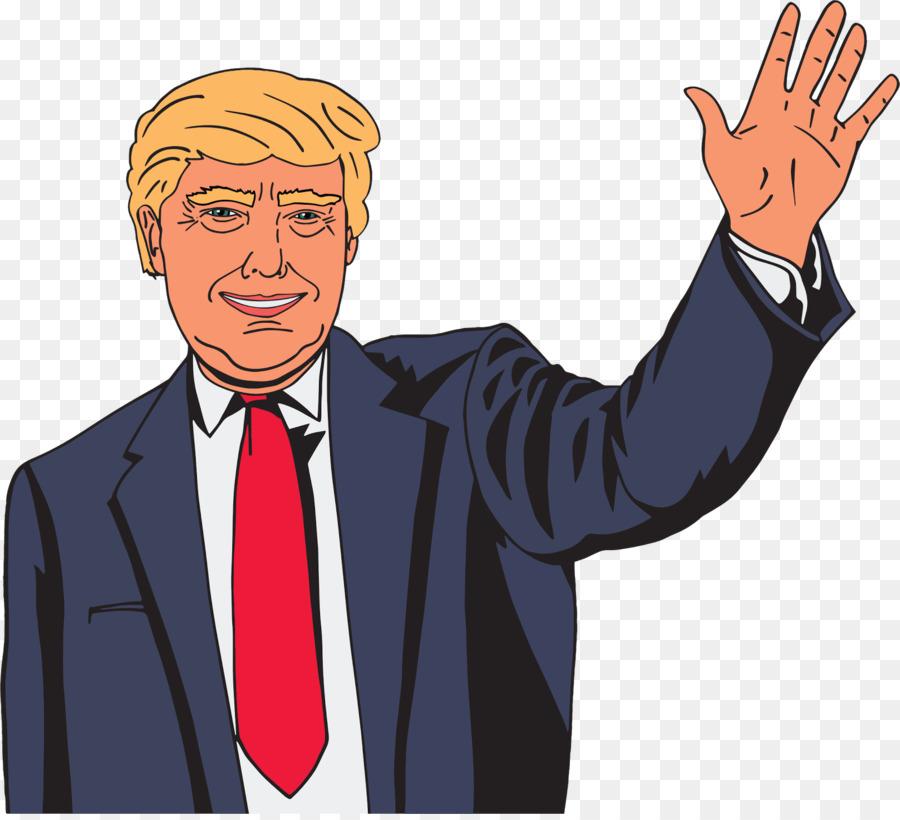 Trump clipart banner royalty free stock Donald Trump clipart - Cartoon, Illustration, Man ... banner royalty free stock