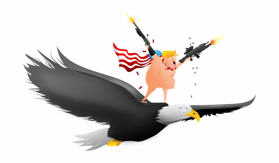Just The Patriotism - Oatmeal Trump Emoji Free PNG Images ... image free