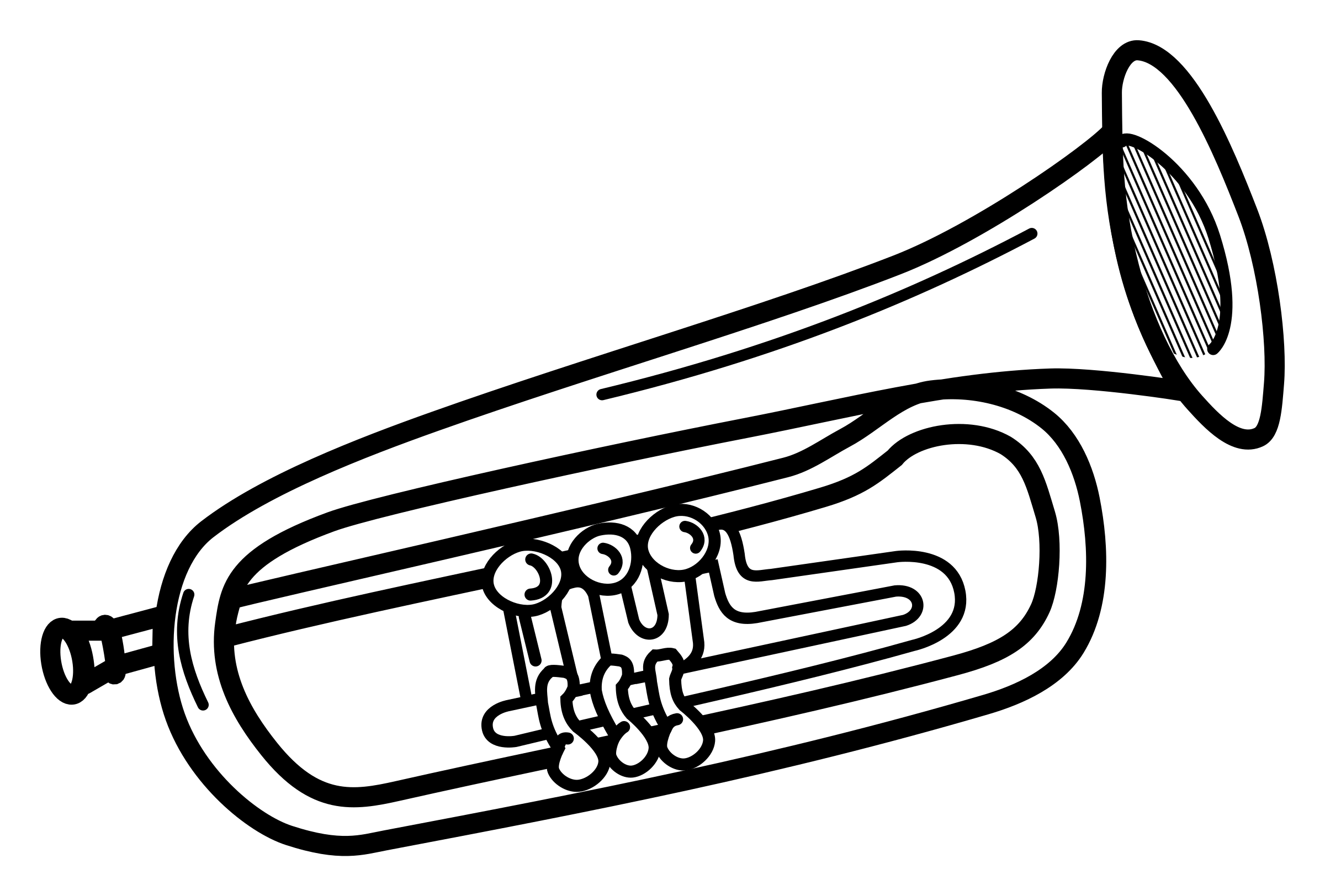 Trumpets clipart image transparent library Trumpet clip art free clipart images 3 wikiclipart ... image transparent library