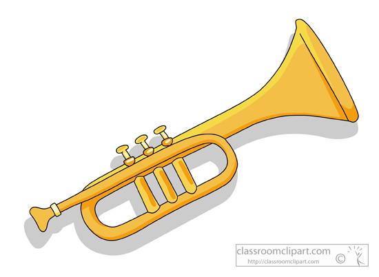 Trupet clipart vector library download Clip art trumpet tumundografico - Cliparting.com vector library download