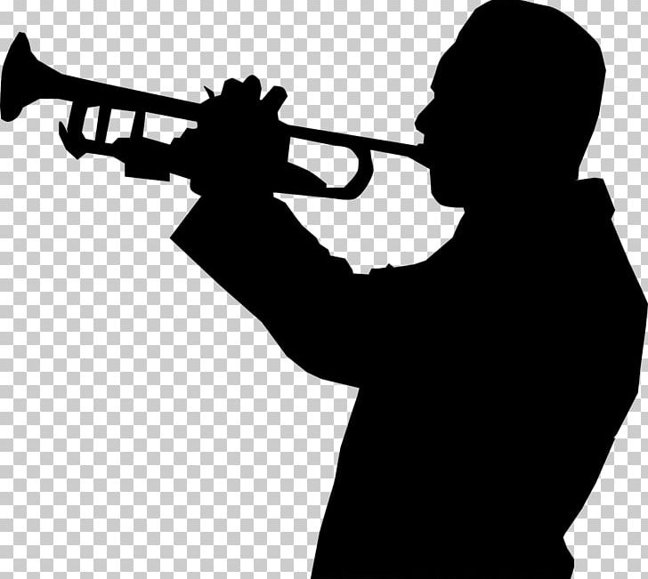 Trumpet Everything Black (feat. Mike Taylor) Music Trombone ... banner royalty free stock