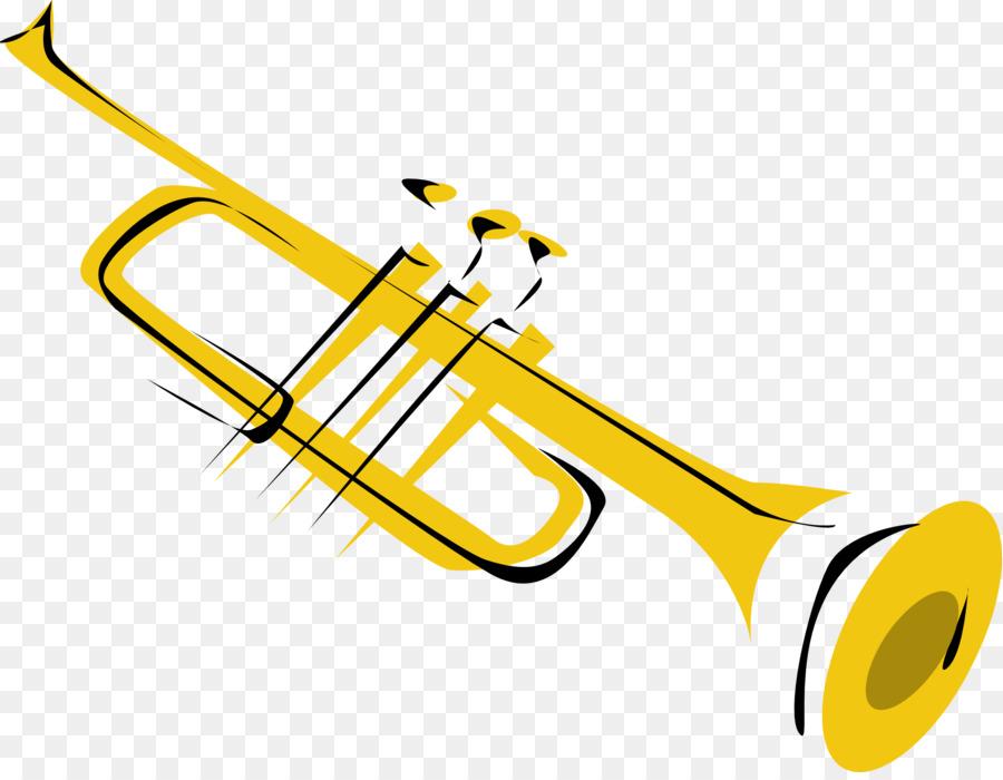 Trumpet clipart transparent vector transparent library Wind Cartoon clipart - Trumpet, transparent clip art vector transparent library