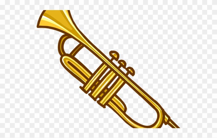Trumpet clipart transparent royalty free download Music Instrument Clipart - Transparent Background Instrument ... royalty free download
