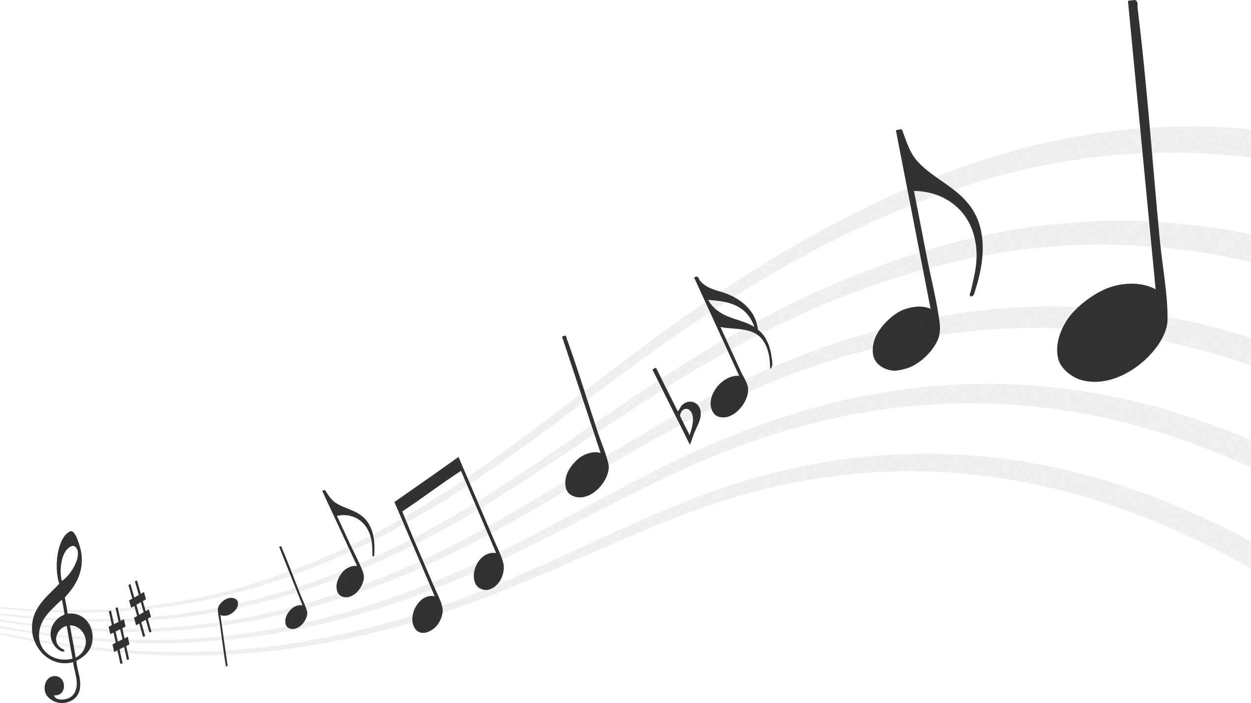 Trumpet music notes clipart black and white png vector free library Music Notes PNG HD Transparent Music Notes HD.PNG Images ... vector free library